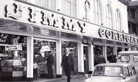 Jimmy Corrigans Amusement Arcade in 1968