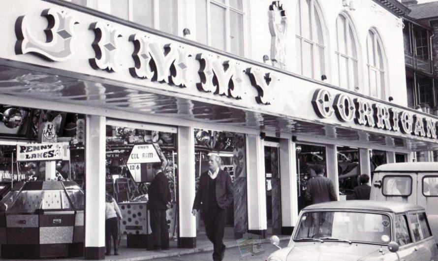 Jimmy Corrigans Amusement Arcade in 1968