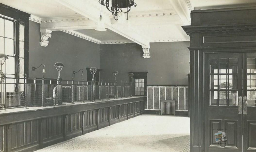 Scarborough Post Office Interior, Aberdeen Walk